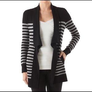 WHBM Draped Collar Sweater